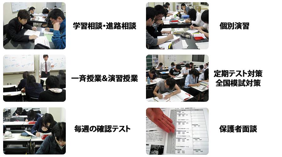 大垣市の学習塾 輝泉塾の内容
